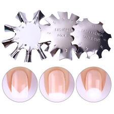 Plantilla de Metal Para Pintar Manicura Francés Herramienta de Uñas ~ Nail tools