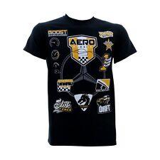 Men's Aero Racing Mercedes Car Racing T-Shirt 100% COTTON DESIGNED IN USA