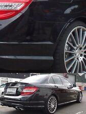 AMG W204 Rear Wheel arch flair trims Set C200K C220CDI C220CDI C250 C350 C63