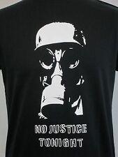 El enfrentamiento T-Shirt armagideon tiempo sin Justicia esta noche GASMASK verdadera postura Punk