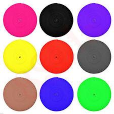 25mm Cinturino In Polipropilene fettuccia NASTRO pp5 ✶ Scelta di Colori 13 ✶ di alta qualità