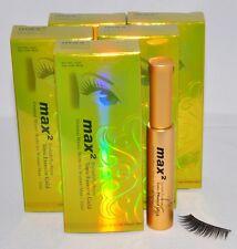 Lot of 5 Eyelash Extensions Max2 Tonic Essence Gold Lash Grow Tonic  Max 2