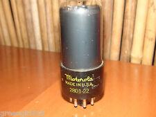 Vintage Smoked Motorola 6V6 GT Stereo Tube #1208 222 32
