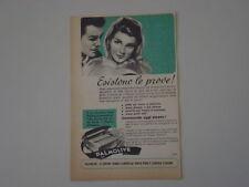 advertising Pubblicità 1953 SAPONE PALMOLIVE
