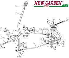 Vista desarrollada injerto hoja tractor podadora 72cm XF140 CASTELGARDEN