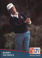 1991 Pro Set Golf Card #238 Bobby Nichols Rookie