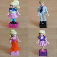 BARBIE Doll Mini Figure Mega Bloks Character Inc Ken - VARIOUS .