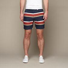 2015 NWT MENS BANKS JOURNAL NEWPORT WALK SHORTS $80 dirty denim striped shorts