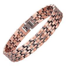 Solid Copper Link Magnetic Bracelet for Men Pisa On Sale Now