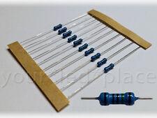20/50/100 Widerstände 10-820 Ohm 1% 1/4W E12 0207 Metallfilm LED SMD Resistor R