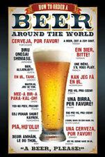 Beer Bier - How to order - Prints - Poster Druck - Größe 61x91,5 cm