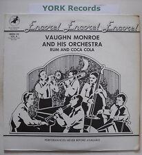 VAUGHN MONROE - Rum & Coca Cola - Ex Con LP Record