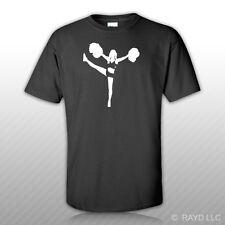 Cheerleading Cheerleader T-Shirt Tee Shirt Free Sticker #2 cheer