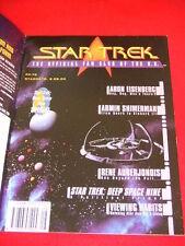 STAR TREK - UK FAN CLUB - DEEP SPACE NINE SPECIAL - Stardate 8.02.04