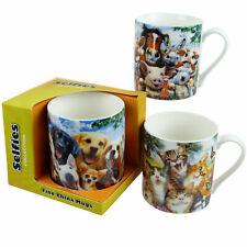 Selfie Mug 3 Designs chats chiens de FERME ANIMAUX chevaux vaches cochons Howard Robinson