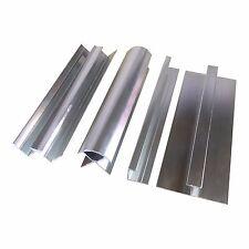 Aluminium Trims For 10mm Shower Wall Panels Bathroom End Cap Corners H Join 2.4m
