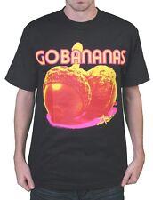 DTA Rogue Status Mens Black Go Bananas Nuts T-Shirt NWT
