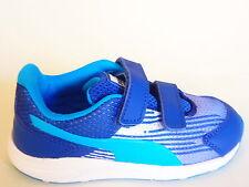 Puma Squence Kinder Schuhe, Blau Kinder/Junge Freizeit Sneakers TurnSchuhe