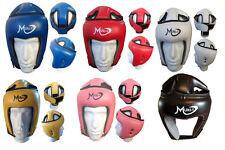 Training HEAD GUARD CASCO BOXE MMA ARTI MARZIALI KICK GEAR FACE PROTECTOR