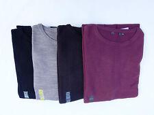 EX Marks & Spencer Mens Crew Neck Cashmilon Soft Knit New Jumper Sweater