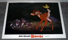 BAMBI original DISNEY lobby card THUMPER 11x14 movie poster