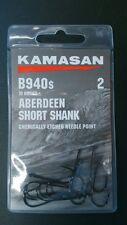 Kamasan B940S Aberdeen Short Shank Sea Hooks