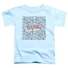 Pictureka Toddler T-Shirt Drawings Light Blue Tee