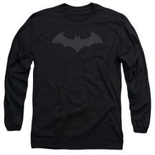 DC Comics Batman Hush Logo Symbol Licensed Adult Long Sleeve T Shirt