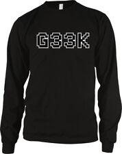 Geek Computer Font Video Games Gamer Nerd Pixels Internet Screen Men's Thermal