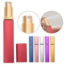 BU_ 12ml Durable Aluminum Empty Perfume Bottle Glass Pump Atomiser Refillable Ca