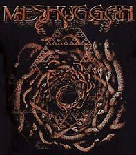 Meshuggah T-Shirt Spiral of Snakes Koloss metal rock Official M XL 2XL NWT