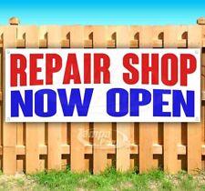 Repair Shop Now Open Advertising Vinyl Banner Flag Sign Many Sizes