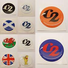 Concept 2 Model D/E Amortisseur Centre Badge en forme de dôme