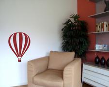 Wandtattoo Ballon 'Montgolfier' Wandaufkleber 25 Farben 6 Größen Wandsticker