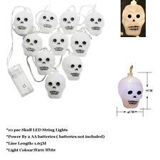 NEW LED skull Halloween String Lights Decoration for Halloween Party DIY Shantou