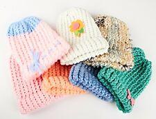 *Infants Kids Children Knitted Beanie Hat Cap Winter Worm