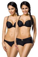 Push Up Bikini-Set mit Höschen und Panty Push-Up-Effekt Bikini Bademode Strand
