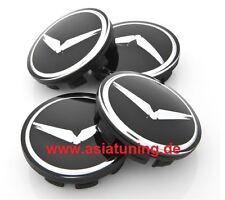 Adler-Kappen für Felgen - Kia Optima (TF) K5 2010+ Tuning-Zubehör schwarz-chrom