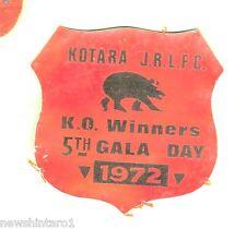 RUGBY LEAGUE BLAZER  PATCH - KOTARA JRLFC, 1972
