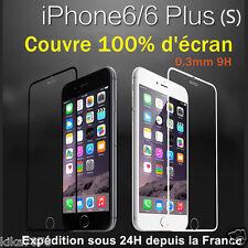 Vitre Ecran integrale Film Verre Trempé protection Pour Apple iphone 6/S/Plus