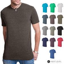 Next Level Premium Mens Tri Blend Crew Neck T Shirt Athletic Fit Tee Shirt 6010