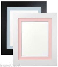 METRO Bianco & Nero Foto Cornici con blu o rosa si monta senza acidi