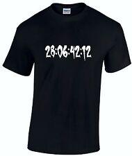 Camiseta para hombre Donnie Darko-Mundo Fin cuenta atrás-Pelicula Dvd Horror de culto