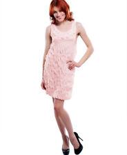 Pink Flower Girl Versatile Clubwear Cocktail Party Dress