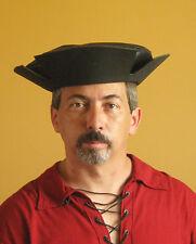 Medieval Celtic Renaissance SCA Larp Borgias Empire Troops Leather Hat No2