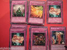 Fallenkarten zur freien Auswah Yu-Gi-Oh Schatteneinsperrender Spiegel usw.