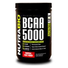 NutraBio BCAA 5000 400grams Instantized Branch Chain Amino Acids 2:1:1 Ratio New