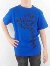 O'Neill Camiseta T-Shirt ROAD Blau texto manga corta cuello redondo Flocados