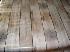 Tischdecke Meterware Wachstuch abwaschbar Holz 1000-1