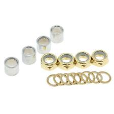 Nuts Kit Accessories Bearing Spacers Washers Skateboard Metal Longboard Speed